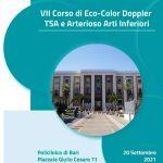 VI Corso di Eco-Color Doppler TSA e Arterioso Arti Inferiori